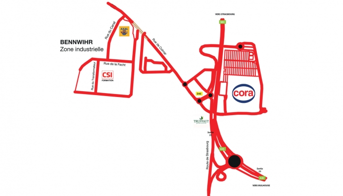 Map-Colmar