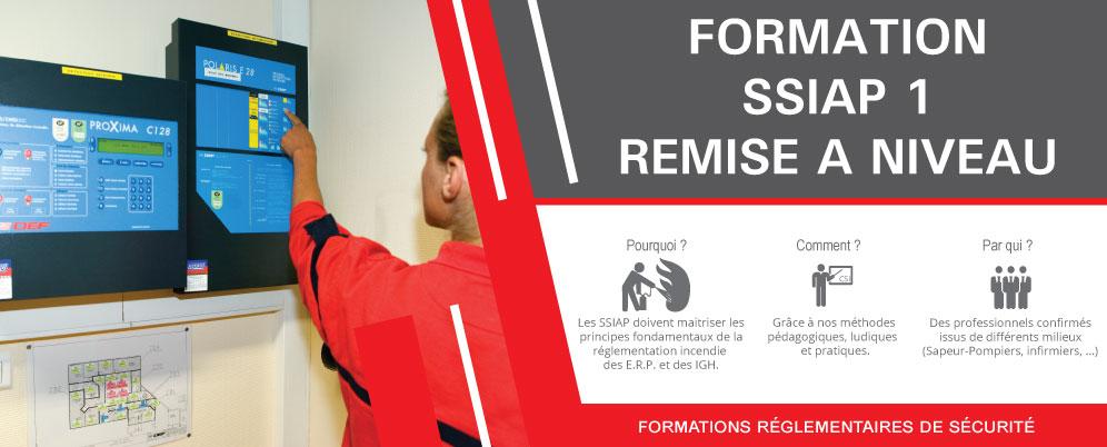 Formation SSIAP 1 Remise à Niveau à Strasbourg, Colmar et Mulhouse