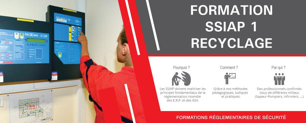 Formation SSIAP 1 Recyclage à Strasbourg, Colmar et Mulhouse