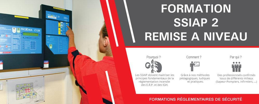 Formation SSIAP 2 Remise à Niveau à Strasbourg, Colmar et Mulhouse